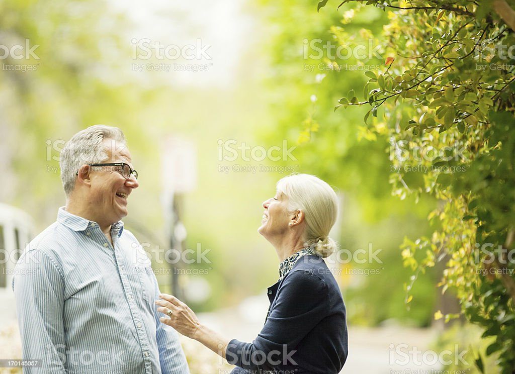 longtime friends royalty-free stock photo