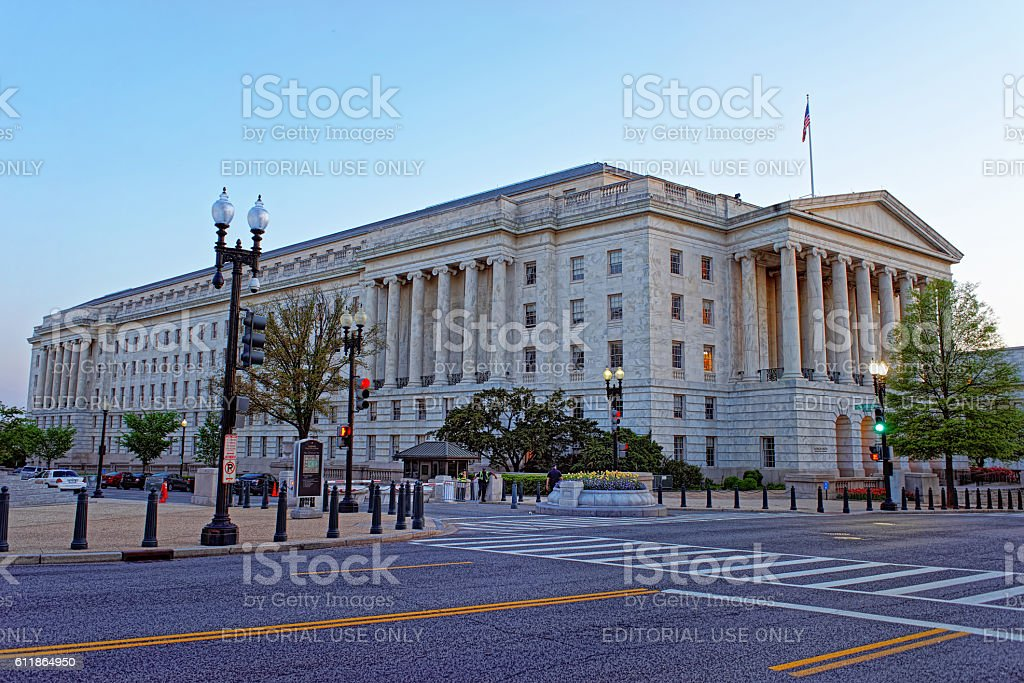 Longworth House Office Building in Washington stock photo