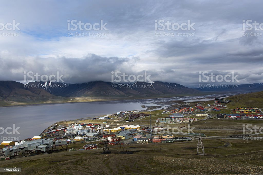 Longyearbyen royalty-free stock photo
