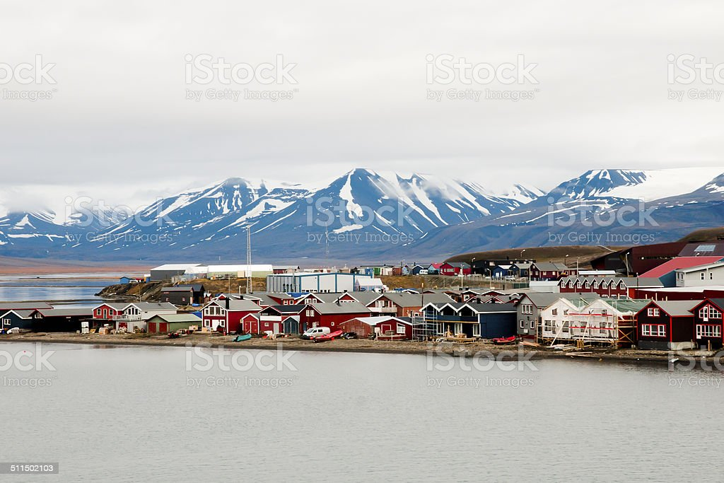 Longyearbyen - Svalbard - Norway stock photo