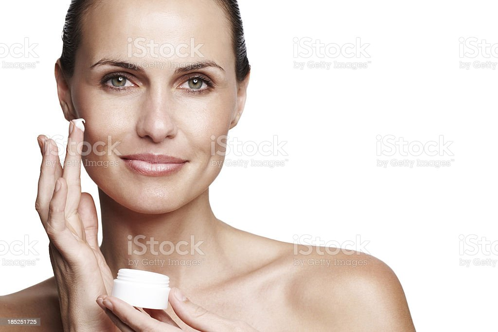 Look after your skin stock photo