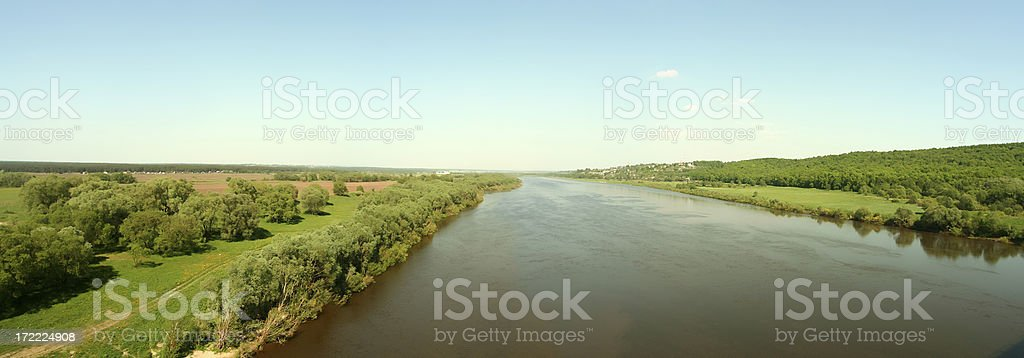 Look at a river. royalty-free stock photo