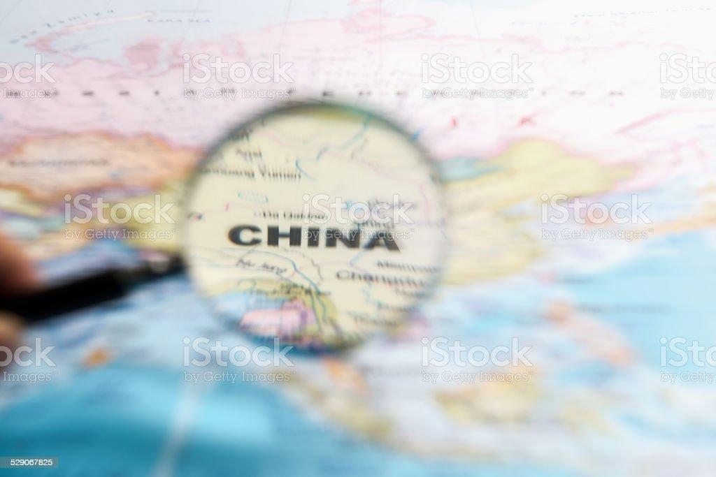 Spójrz na Chinach zbiór zdjęć royalty-free