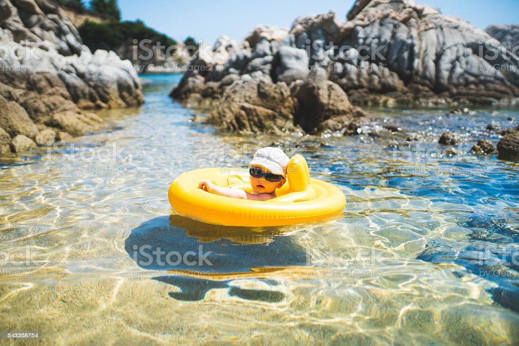 Look at me, I'm chilling stock photo