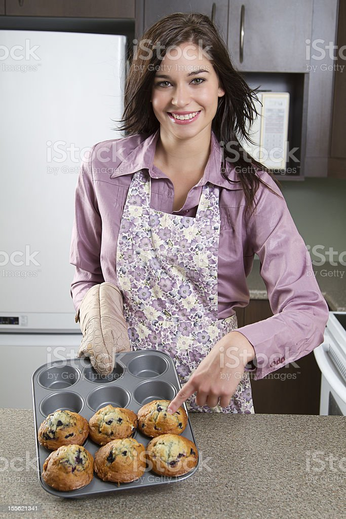 Look at my muffins royalty-free stock photo