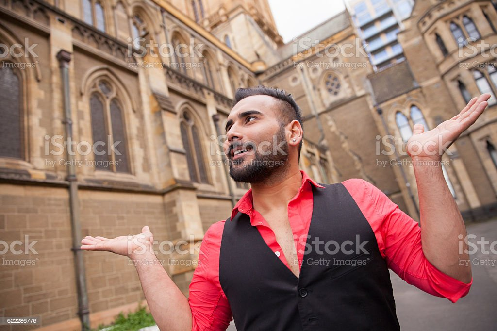 Look at the Fabulous Architecture stock photo