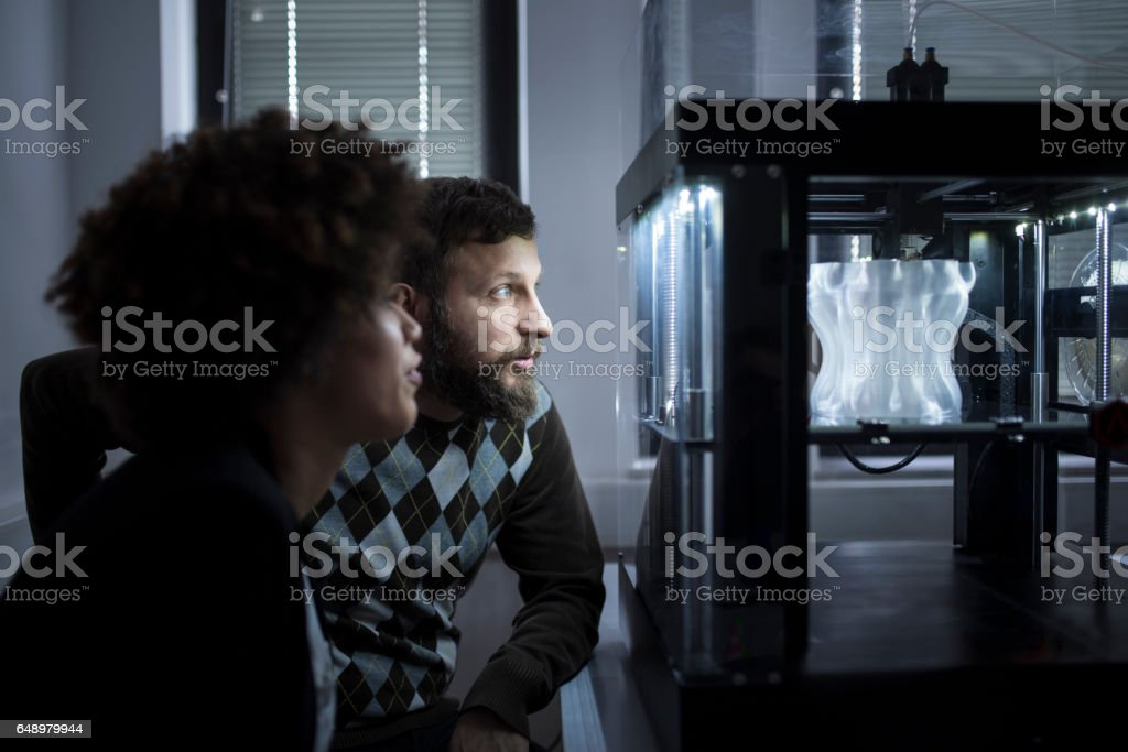 Look at the shape and size stock photo