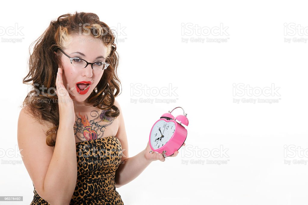 Look at the Time! royalty-free stock photo