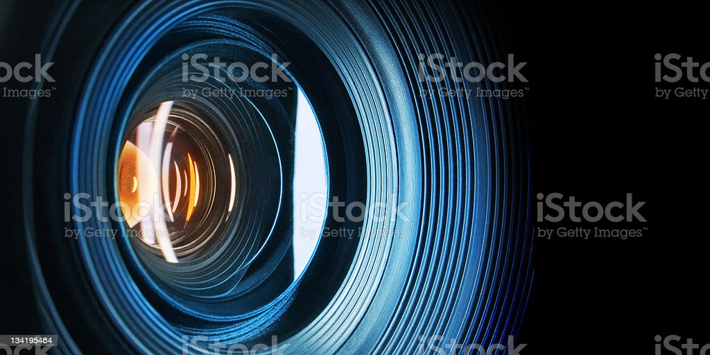 look at this world (via lens) stock photo
