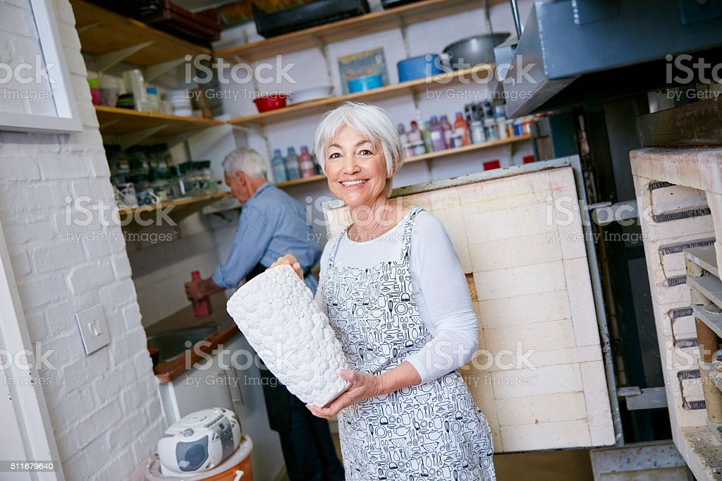 Look at what I made stock photo
