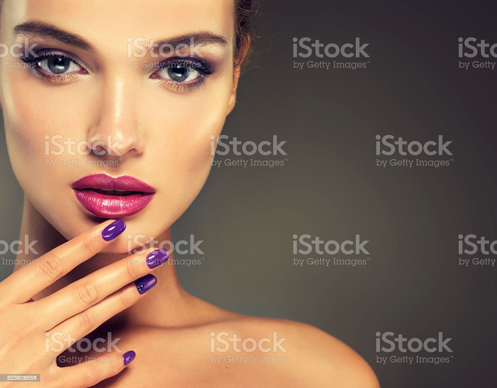 Look full of passion. stock photo