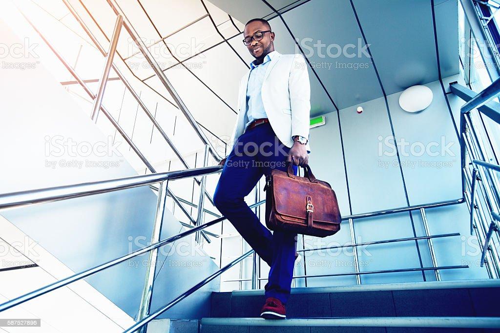 Look good fashion man stock photo