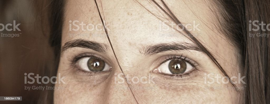 Look into my eyes royalty-free stock photo