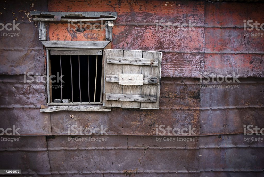 Look into poverty royalty-free stock photo