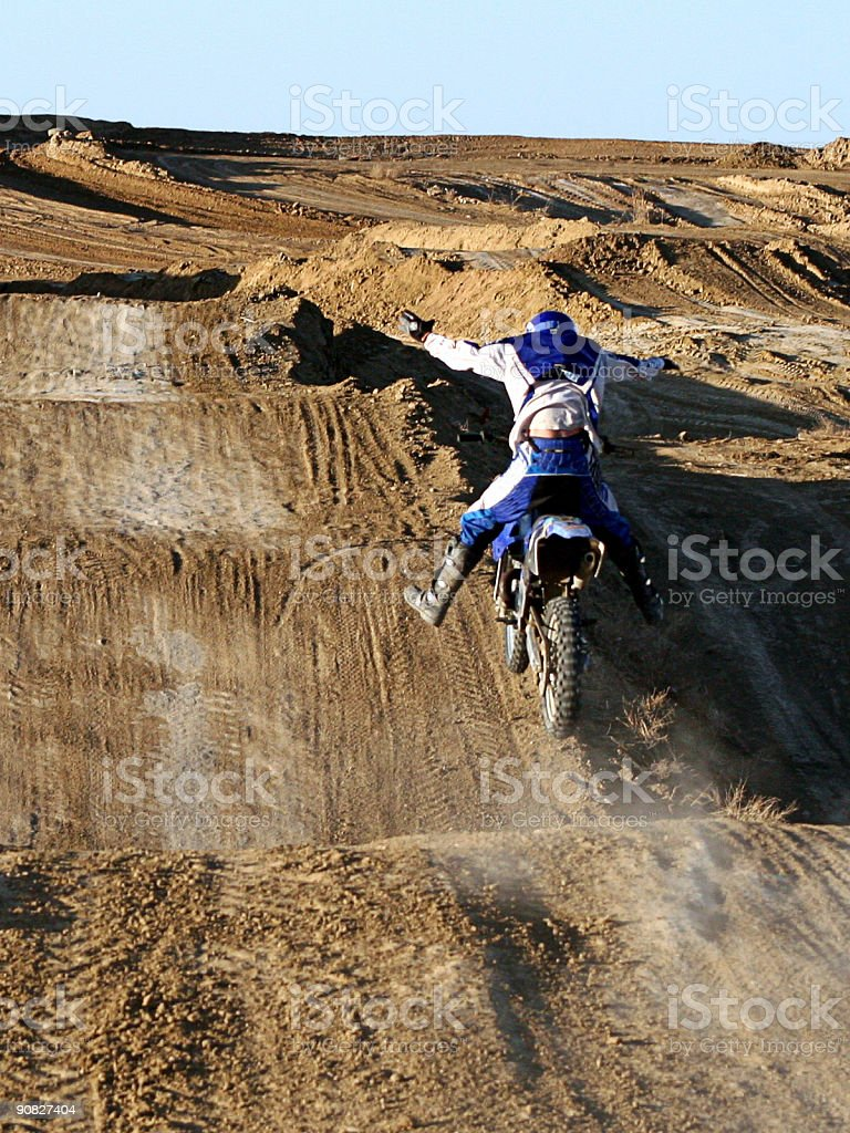 Look Ma! No Hands, Or Feet! royalty-free stock photo