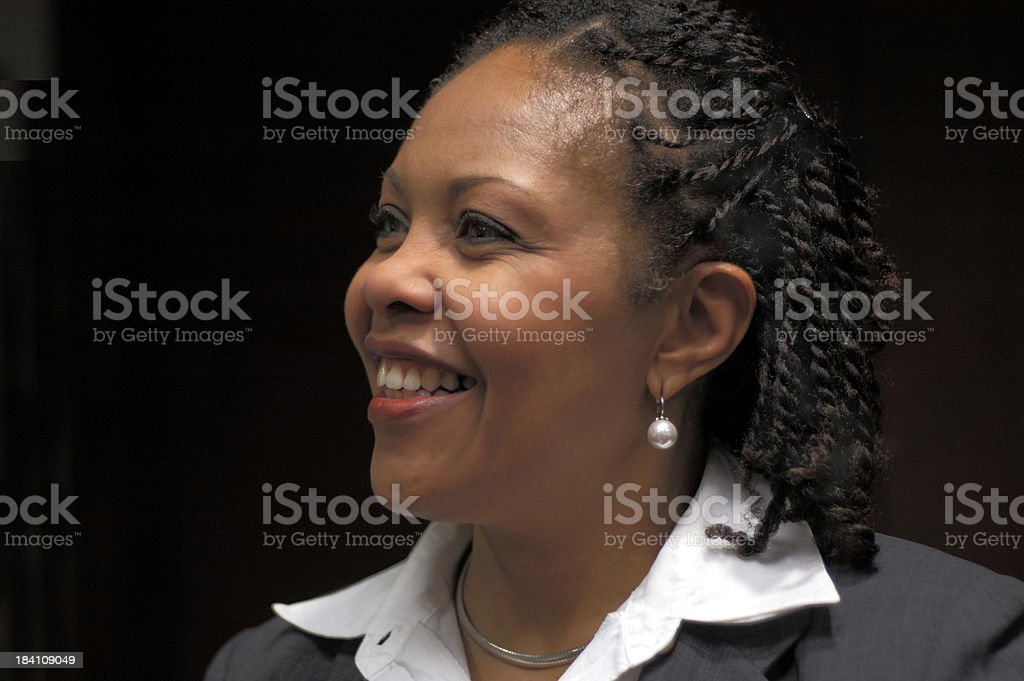 look of recognition stock photo