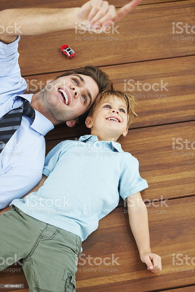 Look over there! royalty-free stock photo