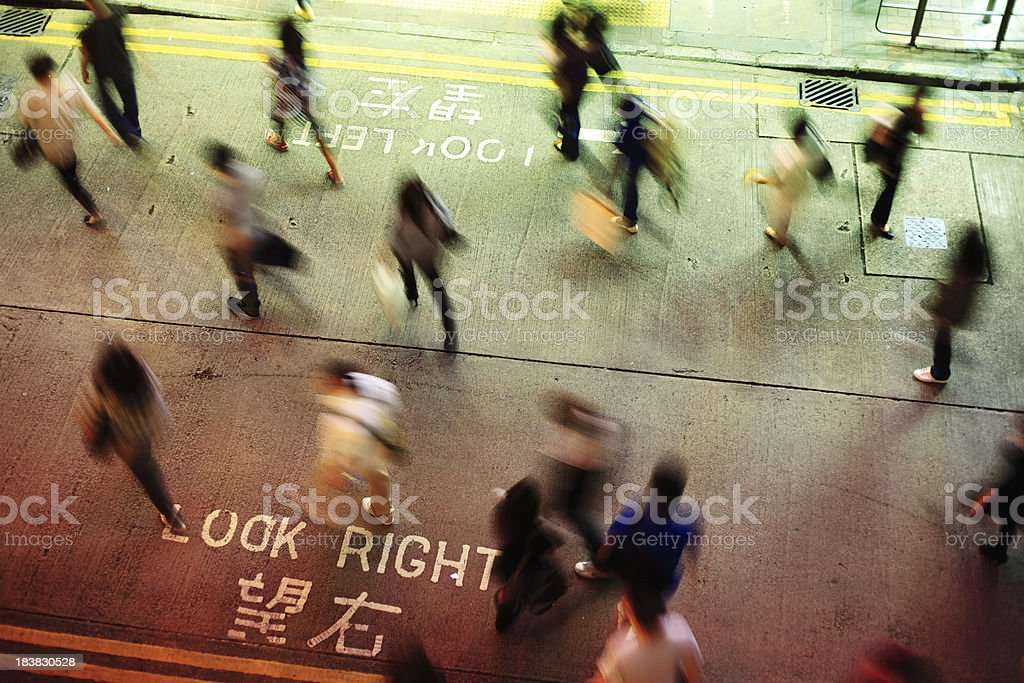 Look Right royalty-free stock photo