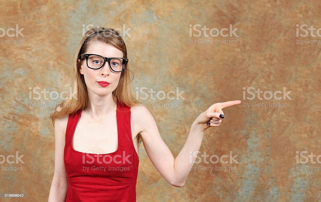Look there stock photo