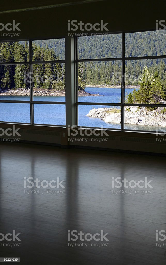 look through a window royalty-free stock photo