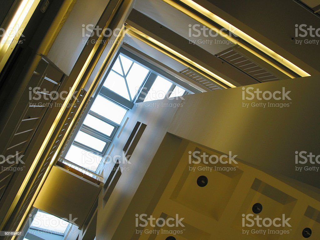 look to the roof royalty-free stock photo