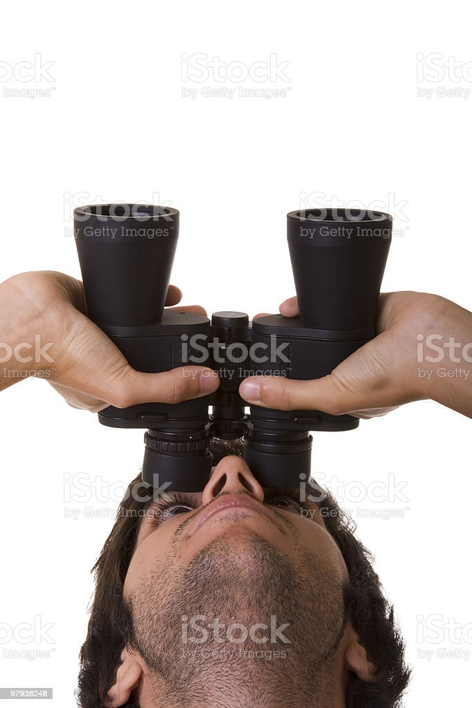 Look up! royalty-free stock photo