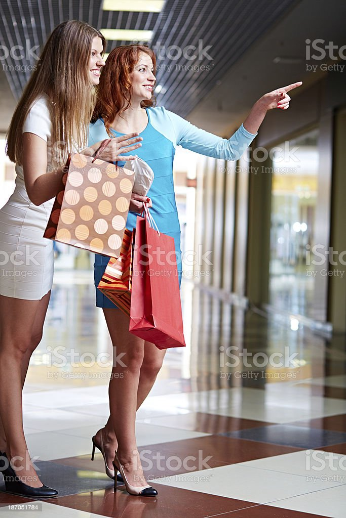 Look, what a wonderful dress! royalty-free stock photo