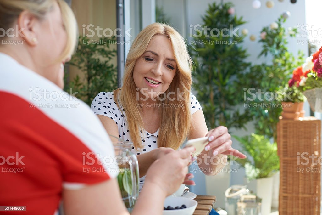 Look what funny I've found stock photo