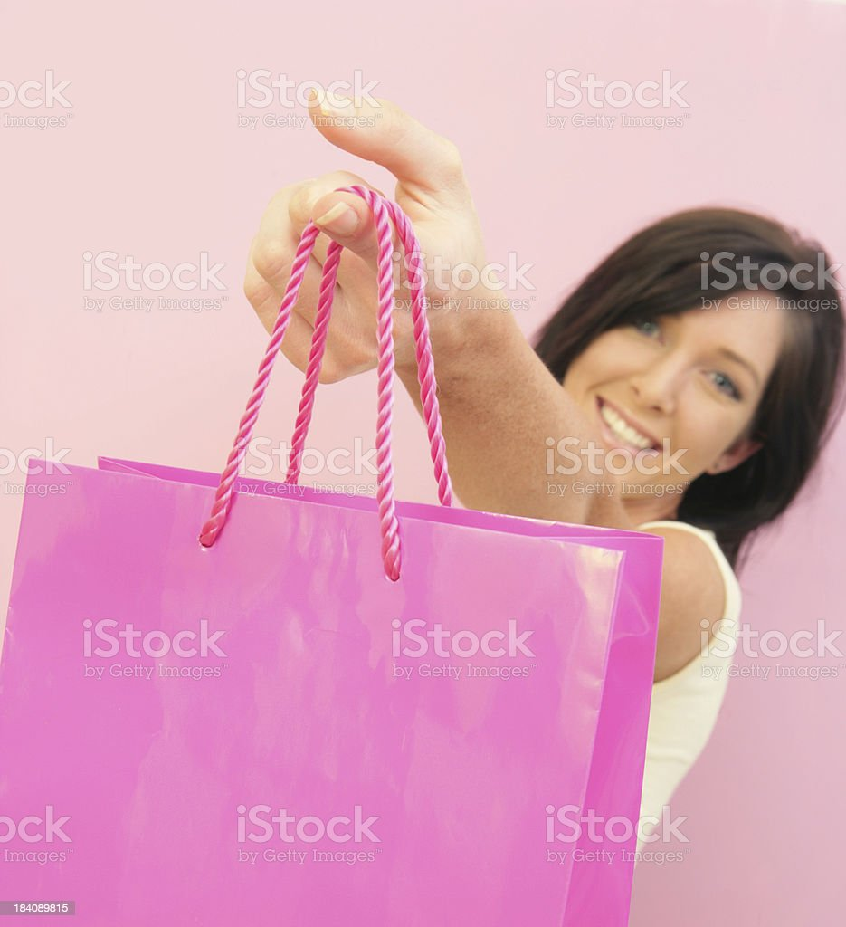 Look what I got... royalty-free stock photo