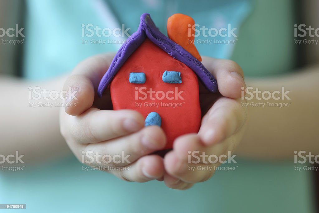 Look what i just made! stock photo