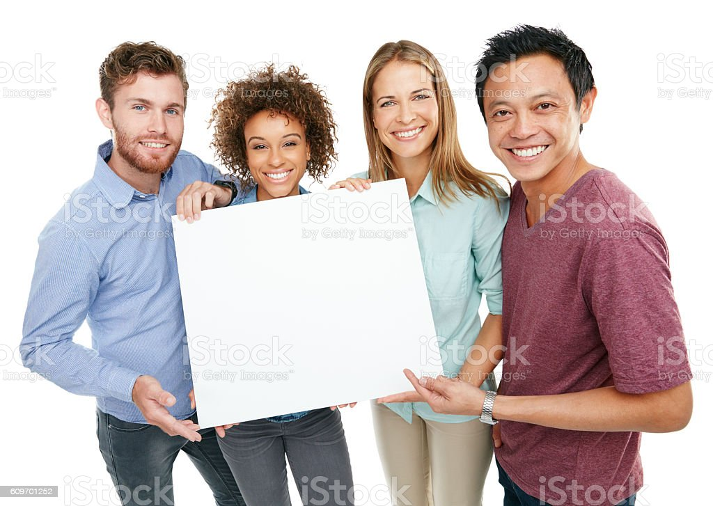 Look what we found! stock photo