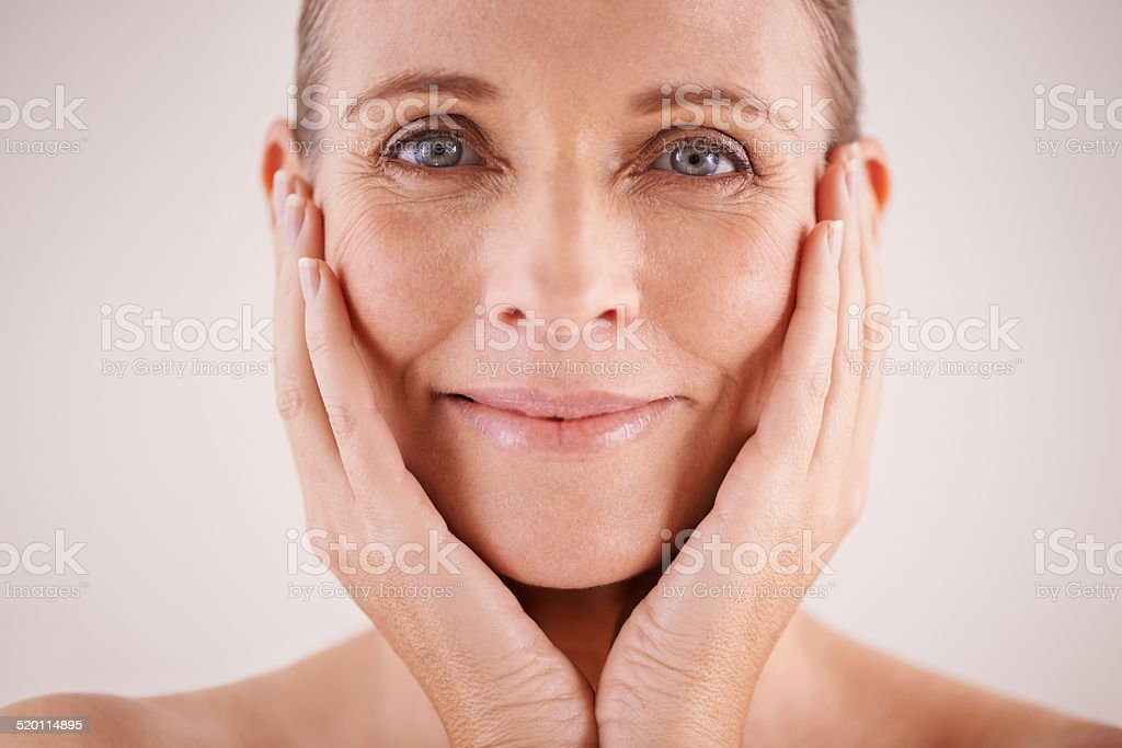 Looking absolutely lovely stock photo