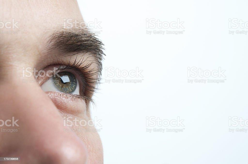 looking ahead stock photo