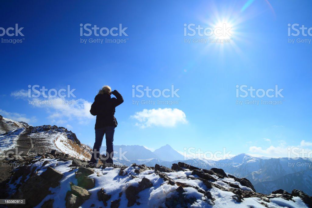 Looking ahead royalty-free stock photo