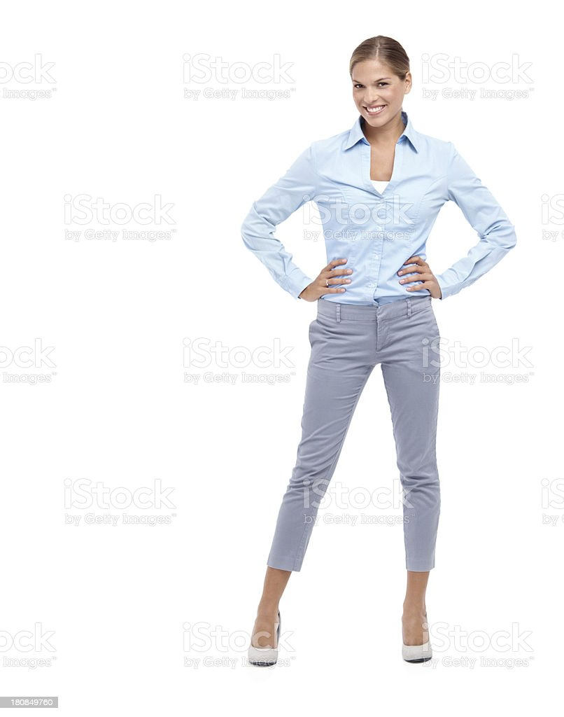 Looking and feeling great! royalty-free stock photo