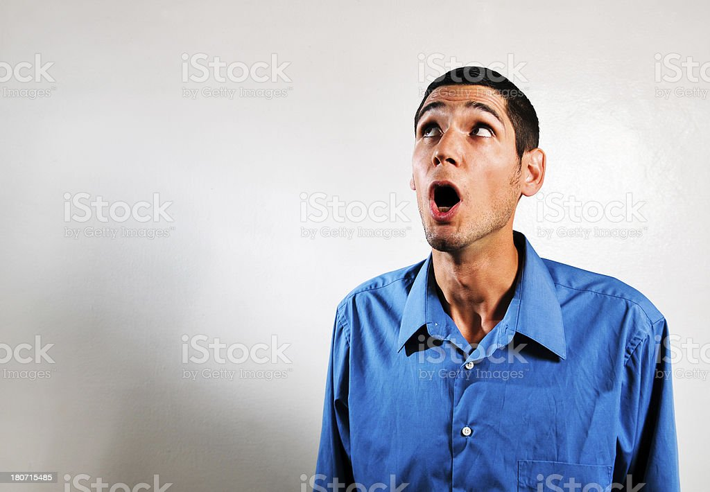 looking astonished royalty-free stock photo