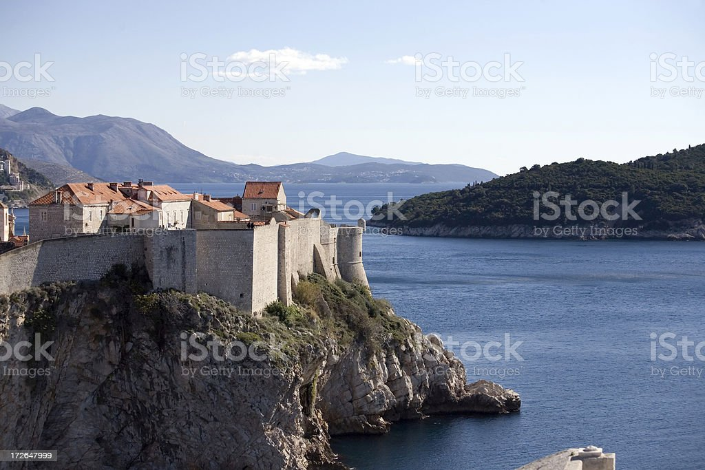 looking at dubrovnik royalty-free stock photo