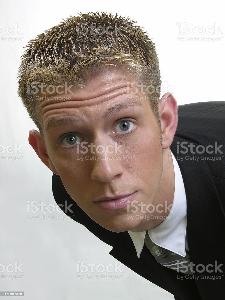 Looking at me?? royalty-free stock photo