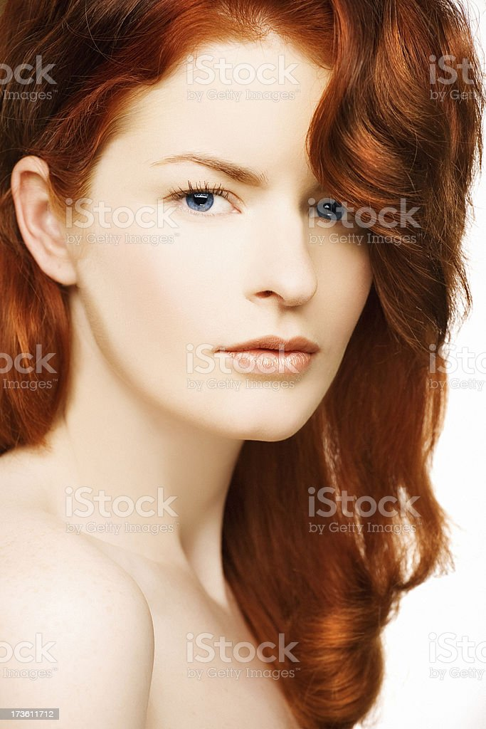 looking at you beauty royalty-free stock photo