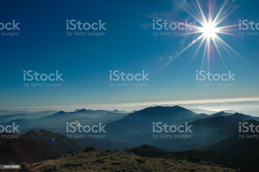 Looking away royalty-free stock photo