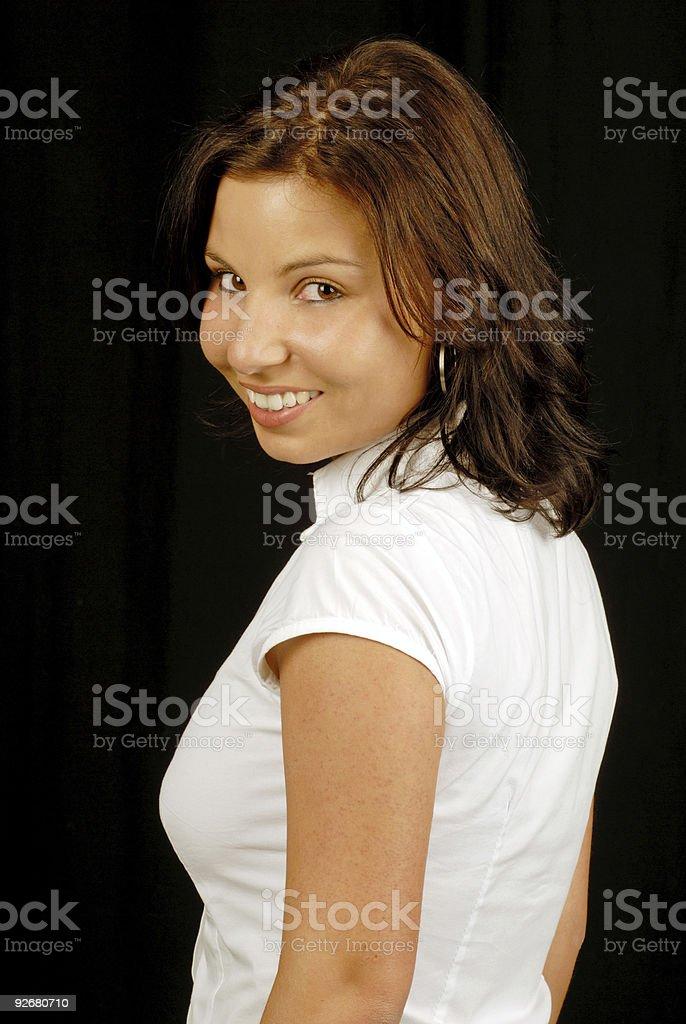 looking backwards royalty-free stock photo