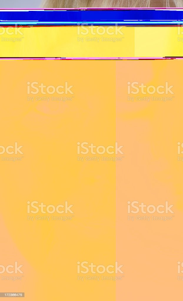 Looking close royalty-free stock photo
