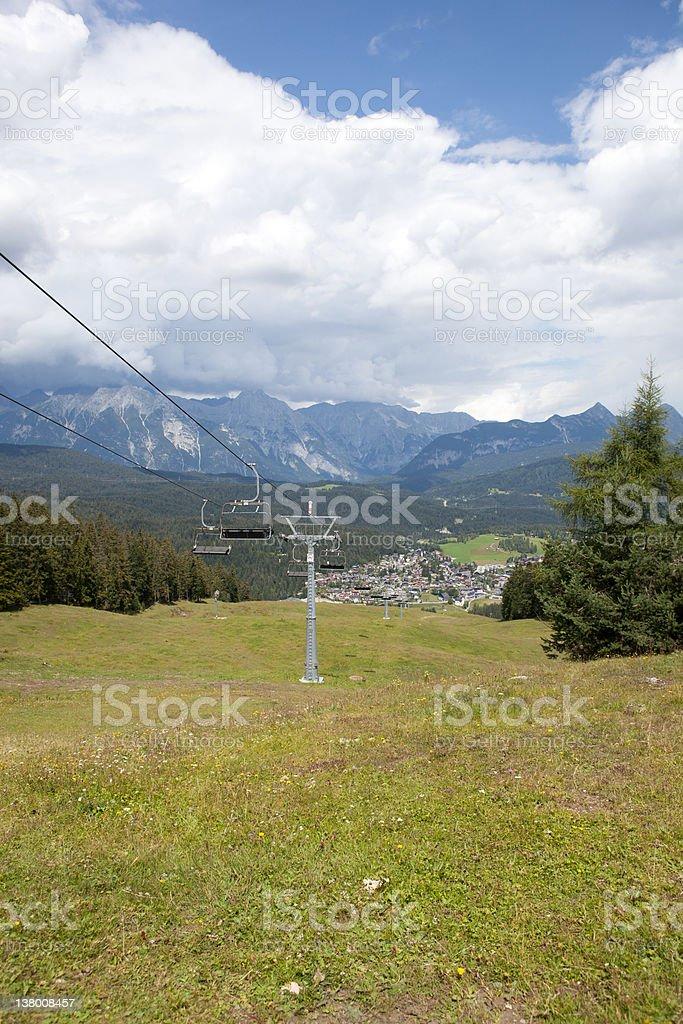 ふさぎこむから Gschwandtkopf を Seefeld 、オーストリア ロイヤリティフリーストックフォト