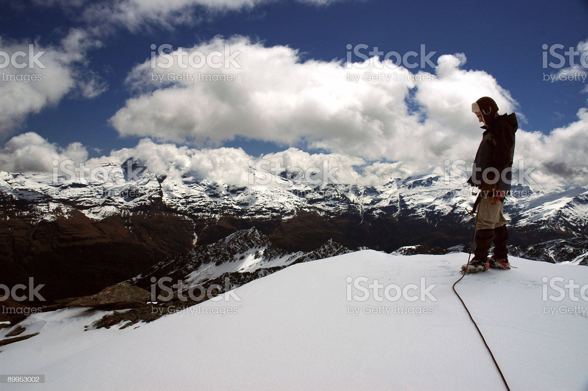 Looking Down on the World royalty-free stock photo