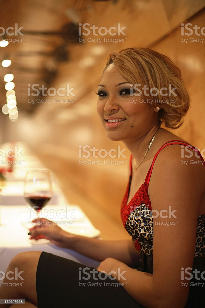 Looking for a Drinking Partner stock photo