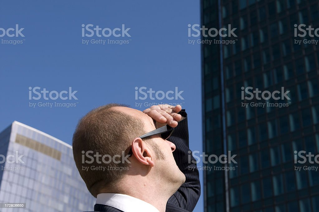 Looking for a  job royalty-free stock photo