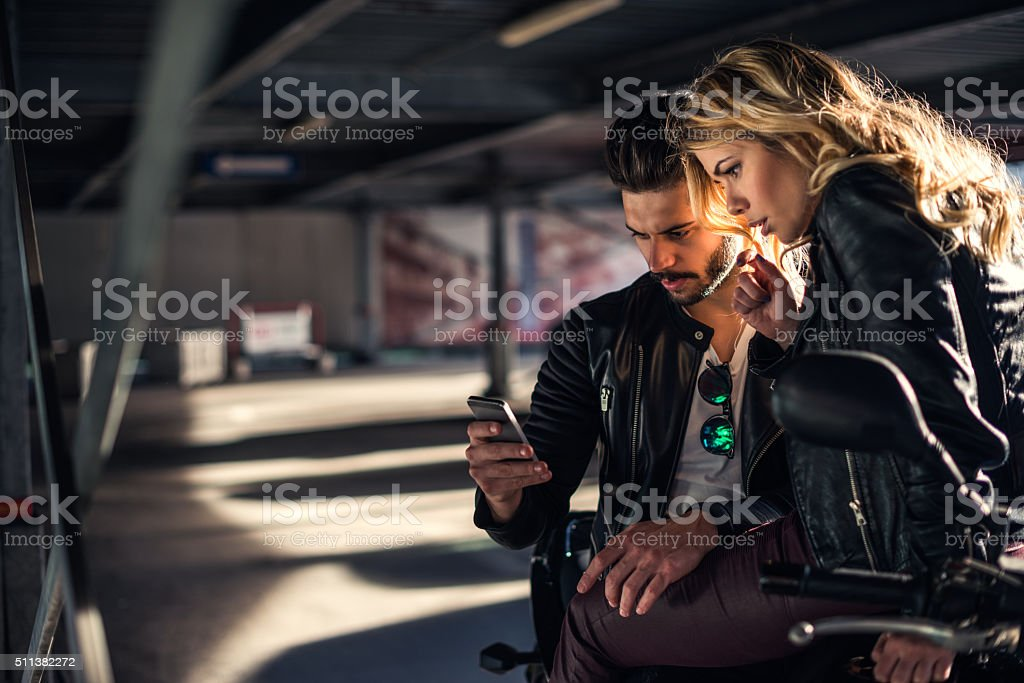 Looking for a new destination stock photo