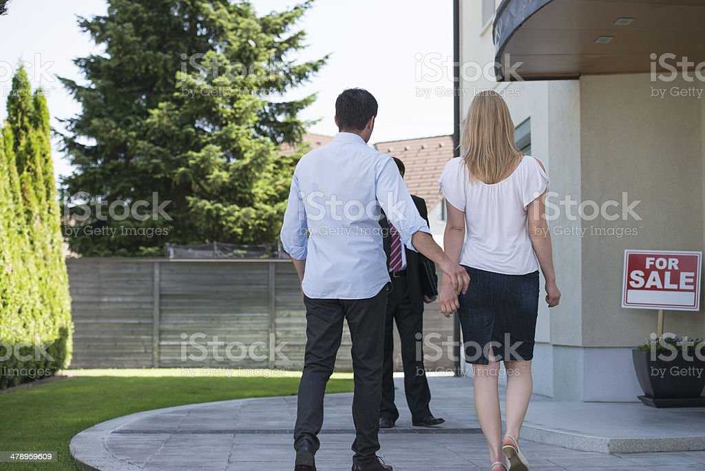 Looking for a new home. royalty-free stock photo