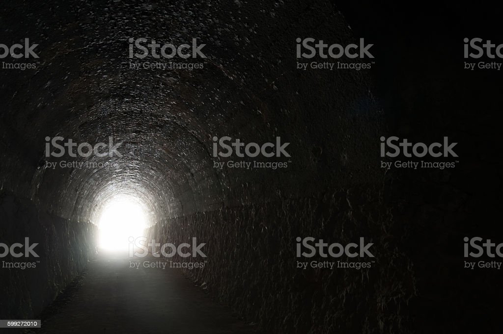 Looking for a way out stock photo