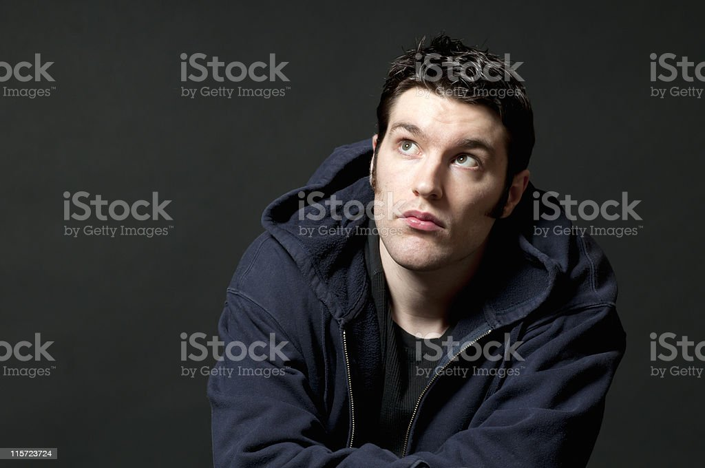 Looking For an Answer royalty-free stock photo